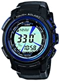 Casio Protrek BLACK Ã BLUE SERIES Tough Solar radio clock MULTIBAND 6 PRW-2000Y-1JF Men's Watch Japan import
