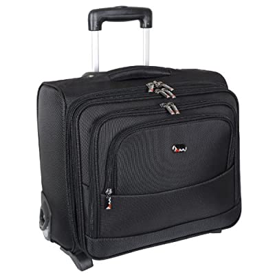 Boston Business Trolley Case Laptop Bag Overnight Flight Travel Hand Luggage by JAM