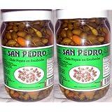 San Pedro Chile Piquin Del Monte En Escabeche Hot & Spicy Pepper From Mexico 2 Bottle Lot