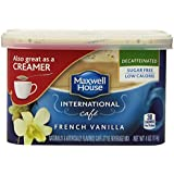 Maxwell House International Coffee Decaf Sugar Free French Vanilla Cafe, 4-Ounce Cans (Pack of 4)