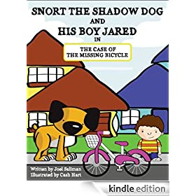 Snort the Shadow Dog and his boy Jared