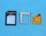 Apple アップル iPhone4 SIMロック解除 アダプターセット マイクロSIM→通常SIM使用アダプタ付属-546371