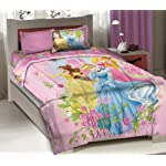 Disney Princess Royal Gardens Licensed Full Bedding Comforter Set