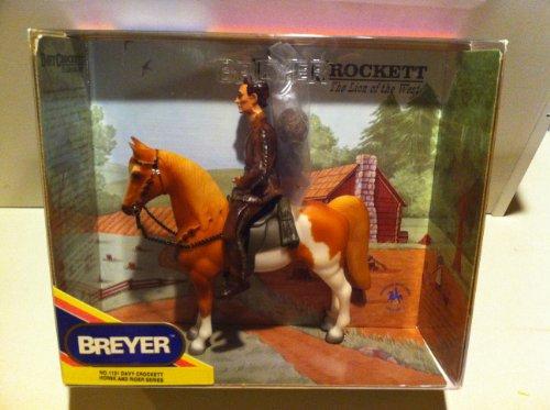 Breyer Horses 1131 Davy Crockett Horse & Rider Series