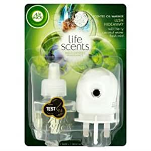 Airwick life scents plug in air freshener kit for Airwick plug in scents