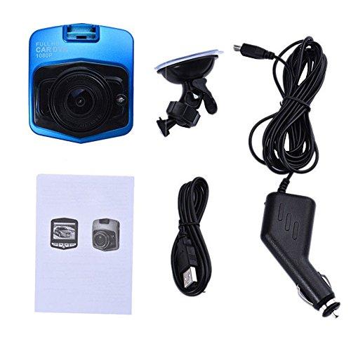 "Nachtsicht HD 1080P 2.4"" LCD HDMI Car Recorder-Kamerarecorder des Auto-DVR blau"