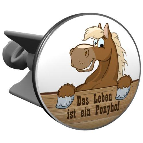 plopp tappo per il lavabo das leben ist ein ponyhof tappo per lavandino lavello. Black Bedroom Furniture Sets. Home Design Ideas