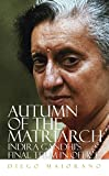 Autumn of the Matriarch: Indira Gandhi's Final Term in Office