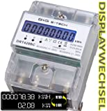 BG-E-Tech-DRT428BC-digitaler-Stromzhler-Drehstromzhler-Wattmeter-fr-DIN-Hutschiene-Energiemessgert-mit-Wattanzeige-3x230400V-2080A