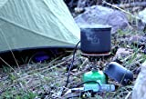 PowerPot V - Charge Your Devices While You Cook! - The Power Pot Camping and Emergency Cooking Pot Uses Campfire, Stove or any Open Flame to Charge Your Electronics!