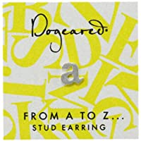 [ドギャード] DOGEARED from a to z earring, SS, little A V3SSZ00210004