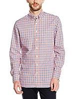 Hackett London Camisa Hombre (Naranja)