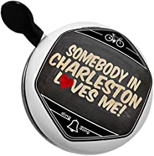 Bicycle Bell Somebody in Charleston Loves me West Virginia by NEONBLOND