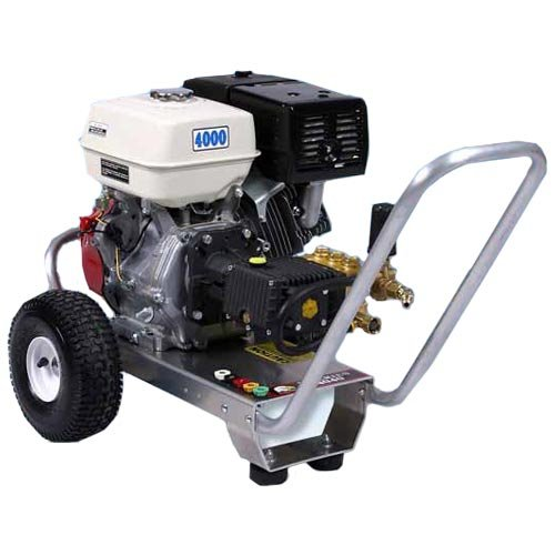 Pressure Pro E4040HG Heavy Duty Professional 4,000 PSI 4.0 GPM Honda Gas Powered Pressure Washer With General Pump (CARB Compliant)