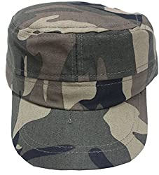 Romano Men's Green Cotton Skull Cap
