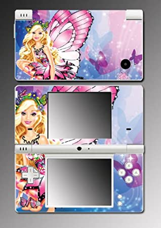 Barbie Princess Fairy Girl Game Vinyl Decal Cover Skin Protector 2 for Nintendo DSi