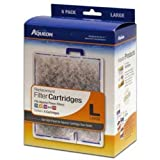Aqueon 06088 Filter Cartridge, Large, 6-Pack