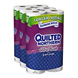 Quilted Northern Ultra Plush, 24 Supreme (90+ Regular) Rolls Toilet Paper