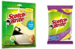Scotch Brite Scrub Sponge Large and Sponge Wipe Large
