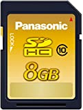 Panasonic 8GB SDHCメモリーカード CLASS10 RP-SDWA08GJK