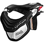 Troy Lee Designs Leatt Club Neck Brace Off-Road/Dirt Bike Motorcycle Body Armor - Black / Medium