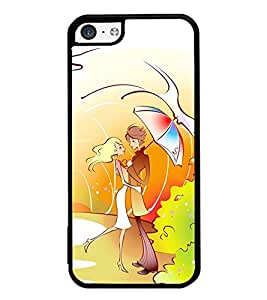 Vizagbeats couple under umbrella Back Case Cover for Apple Iphone 5C