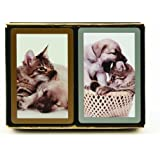 Congress Cat and Dog Playing Cards (Pack of 2)