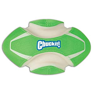 Chuckit Glow-In-The-Dark Fumble Fetch Dog Toy