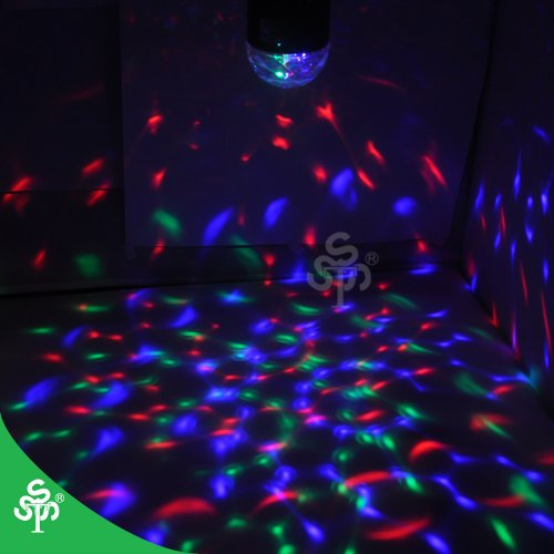 Tsss® Stage Lighting ~ Save $$$ Promotion For Xmas ~ Disco Dj Party Lighting ~ Led Rgb Crystal Rainbow Color Effect Light ~ Happy Birthday Home Party