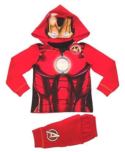 Lora Dora -  Pigiama due pezzi  - Maniche lunghe  - ragazzo Rosso Iron Man Dress Up