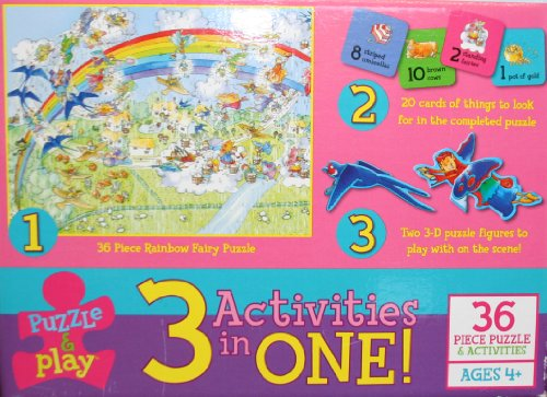 Puzzle and Play - 36 Piece Puzzle & Activities Set