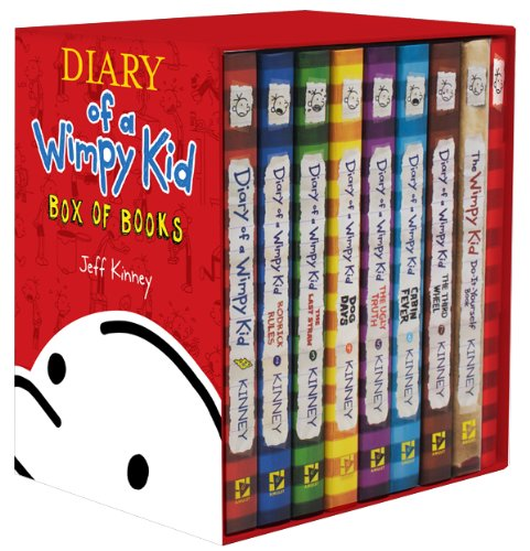 Diary of a Wimpy Kid Box of Books 1-7 & The Do-It-Yourself Book & Journal