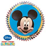Wilton Baking Cups - Disney Mickey Mouse - Package of 50 - We Ship Within 1 Business Day w/ *FREE Standard Shipping!