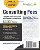 Consulting Fees: A Guide For Independent Consultants (Consultant Journal Guides) (Volume 1)