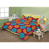 "Birla Century Bedsheet FLORICA Polyester Cotton Blend Double Bed Sheet Size: 88"" X 96"" With Two Pillow Cover Size... - B00MY1IKR8"