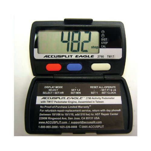 Cheap Accusplit Eagle Pedometer – AE2790 – Set of 12 – Black (B003V13GB0)