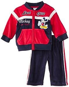 Disney Mickey Mouse NH0097 - Survêtement - Bébé garçon - Rouge (True Red/Blue) - FR: 6 mois (Taille fabricant: 6 mois)
