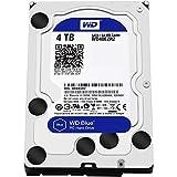 WD Blue 4TB Desktop Hard Disk Drive - SATA 6 Gb/s 64MB Cache 3.5 Inch - WD40EZRZ
