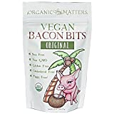 Vegan Bacon Bits (3 Pack) - USDA Organic - Crunchy plant based