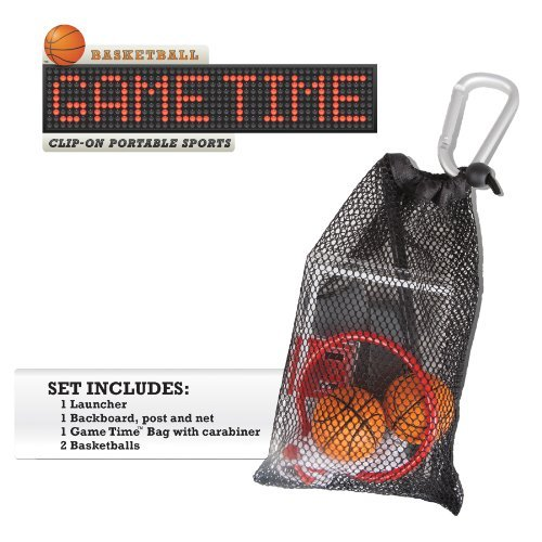Basketball Game Time Clip-On Portable Sports - 1