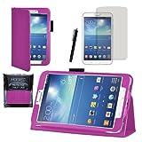 MOFRED® Purple Samsung Galaxy Tab 3 8