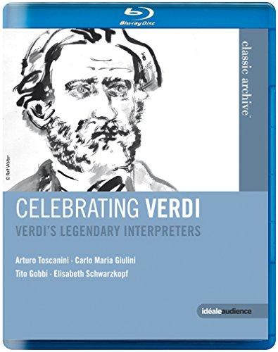 Blu-ray : Celebrating Verdi: Legendary Interpreters