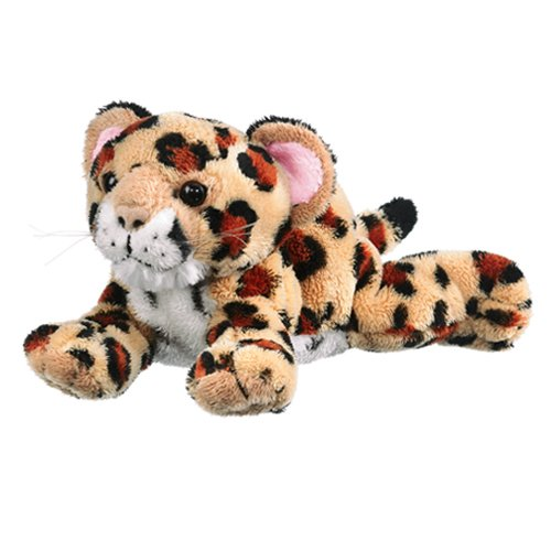 "9"" Jaguar Cub Plush Stuffed Animal Toy"