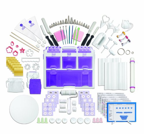 Wilton 2109-0309 Ultimate Professional Cake Decorating Set, Purple Reviews
