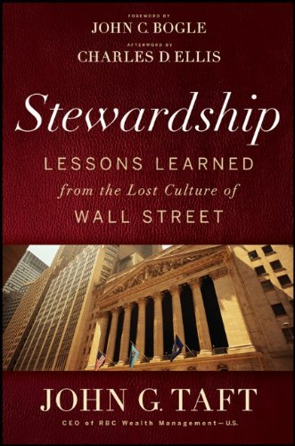 Image for Stewardship: Lessons Learned from the Lost Culture of Wall Street