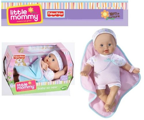 Fisher Price Little Mommy Newborn Baby Doll