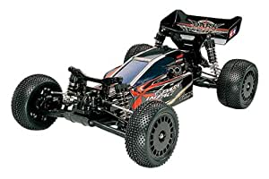 Tamiya 300058370 - Dark Impact Buggy DF03, ferngesteuertes 4 WD Offroad Fahrzeug, 1:10, Elektromotor, Bausatz