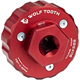 Wolf Tooth Components Bottom Bracket Tool Red, 16 Notch 41MM (Color: Red, Tamaño: 16 Notch 41MM)