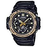 Men's Casio G-Shock Master of G Series Black and Vintage Gold-Tone Watch GN1000GB-1A