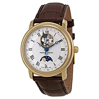 Frederique Constant Geneve Classics Moonphase FC-335MC4P5 Automatic Mens Watch Open Balance Spring